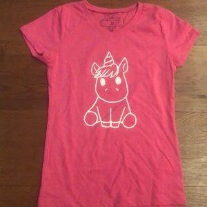 NWOT Girls Jane Marie Unicorn Shirt